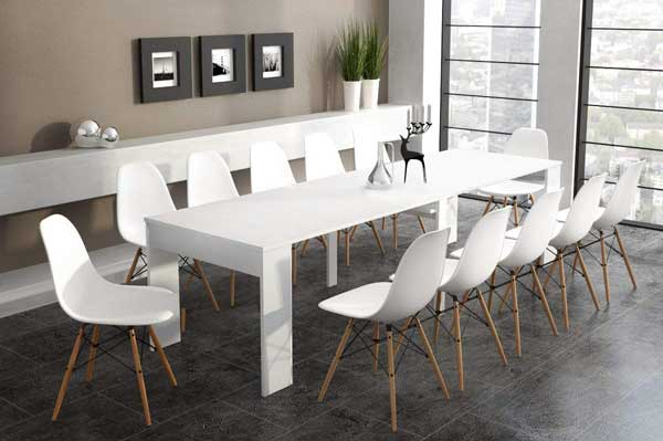table extensible rectangulaire ma