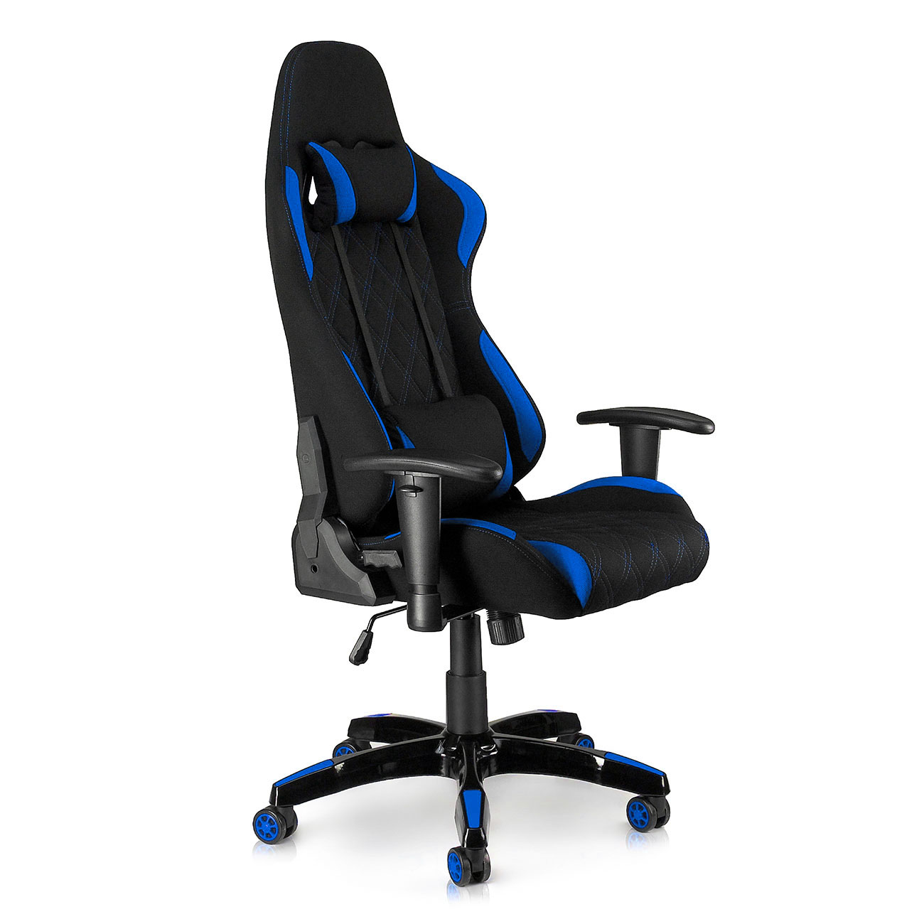 throne office chair outdoor table and chairs wood my sit racing blue racer