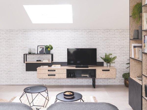 meubles tv sur mesure cuisinella
