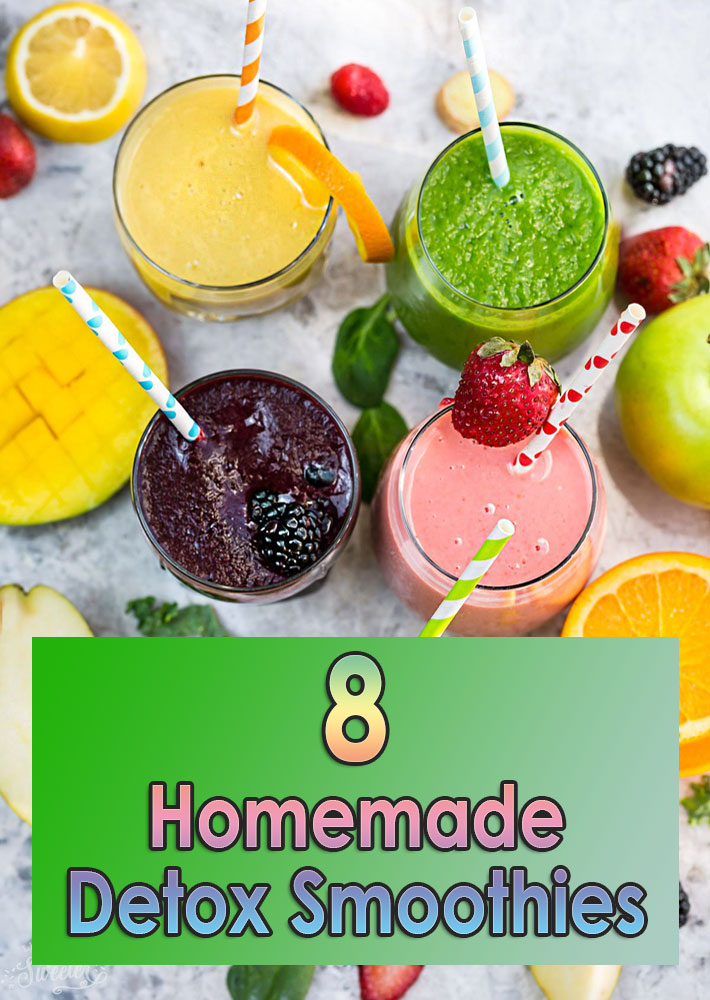 8 Homemade Detox Smoothies
