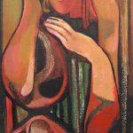 Mikhail Turovsky – WOMAN LEANING ON HER ARM