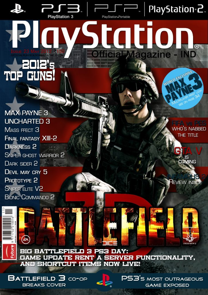Game Magazine Cover  MAAC  Maya Academy Of Advanced Cinematics  Pune MG RoadMAAC  Maya