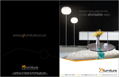 Furniture Company Brochure Design  Company Brochure