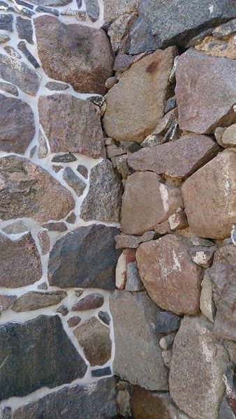 maakivi seina sisenurk