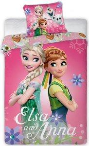 Disney Frozen junior dekbedovertrek Elsa  Anna  90x140cm