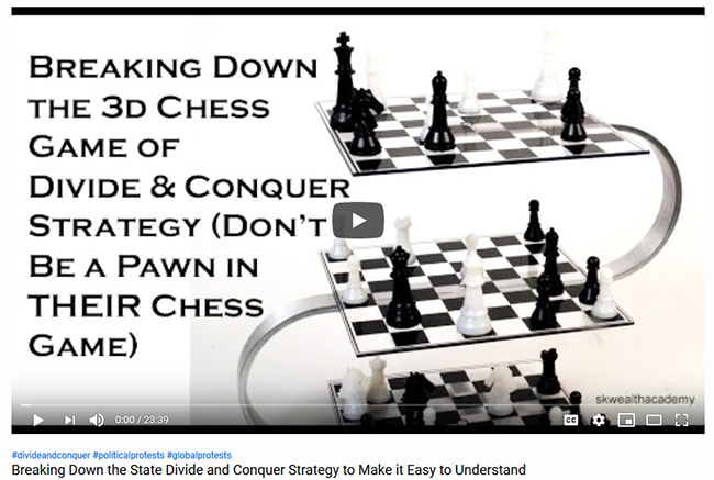 divide and conquer strategy explained
