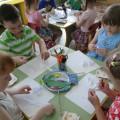 """کلاس استاد کودکان در تولید یک گل """"بابونه"""" (گروه میانی)"""