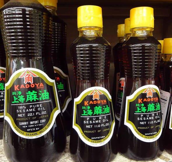 Sesame oil Chamgireum  Korean cooking ingredients