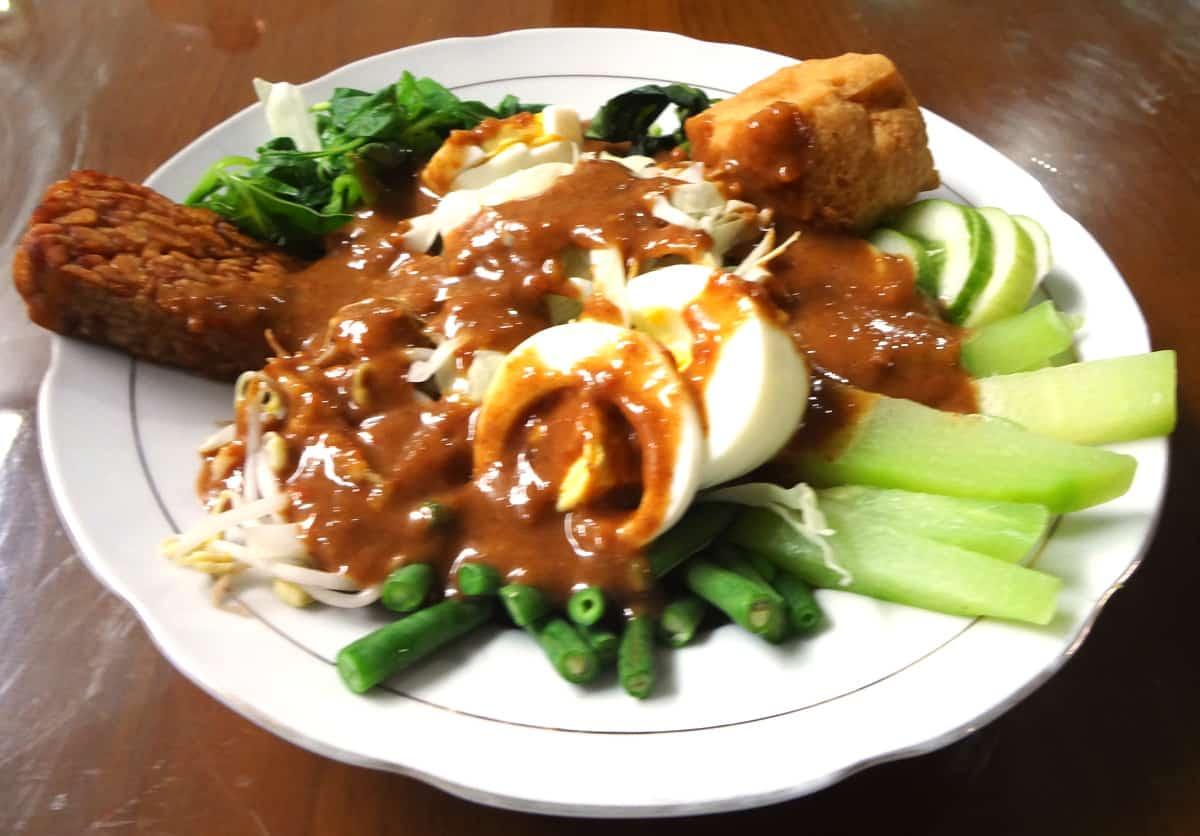 Gadogado Indonesian salad recipe  Maangchicom