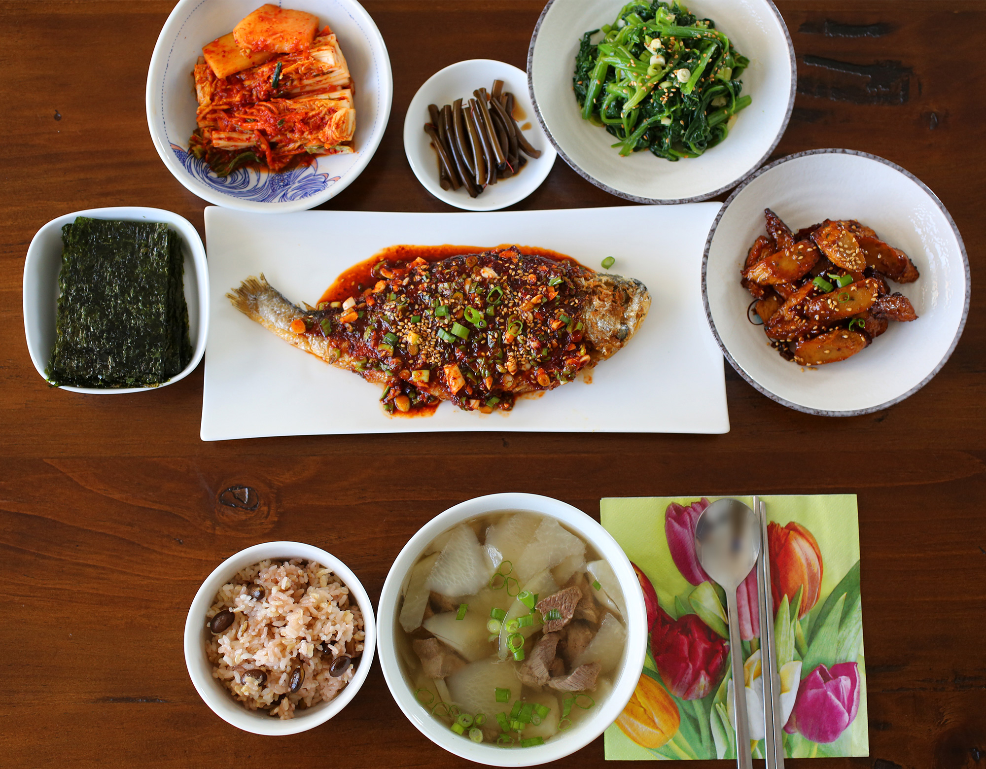 catering buffet set up diagram with inputs and outputs of photosynthesis process a typical korean homestyle table setting maangchi