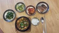 Korean food photo: My simple table setting for lunch ...