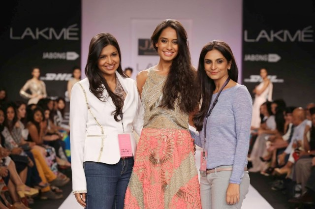 Lisa-Hayden-lakme-fashion-week-2014-summer-resort-collection-by-Jade-Monica-and-Karishma