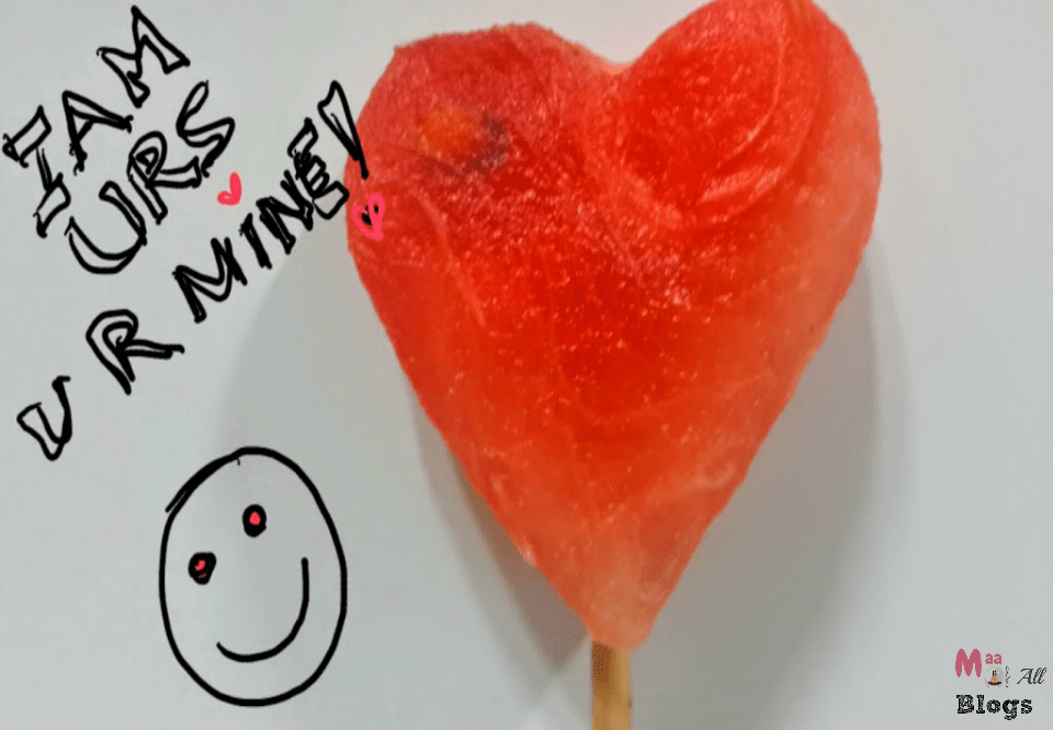 How to be romantic on Valentine Day with kids hanging to you like attachments !
