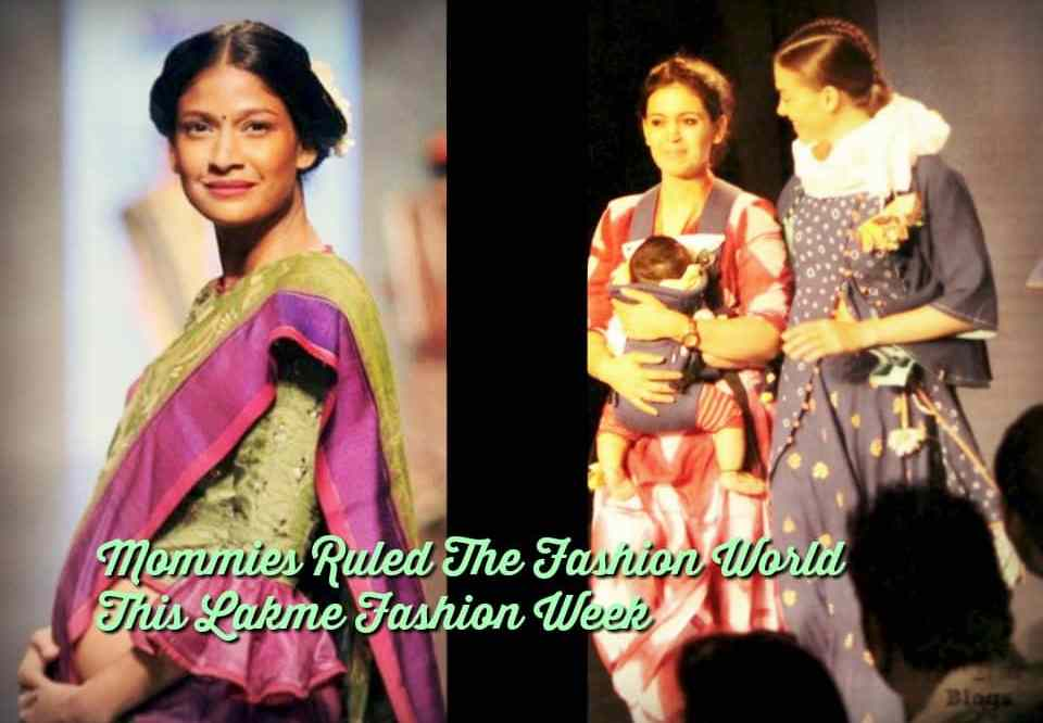 Mommies Ruled The Fashion World This Season At Lakme Fashion Week