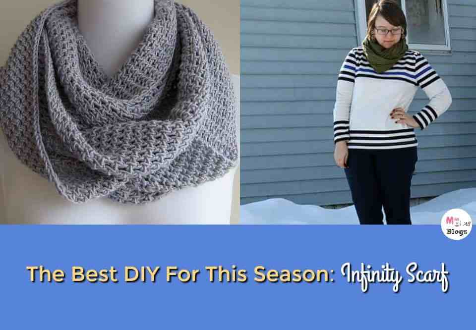 The Best DIY for This Season: Infinity Scarf
