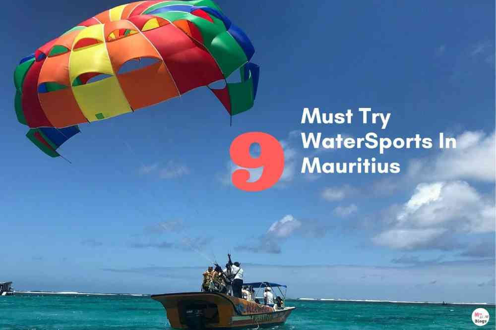 9 Must Try Water Sports In Mauritius
