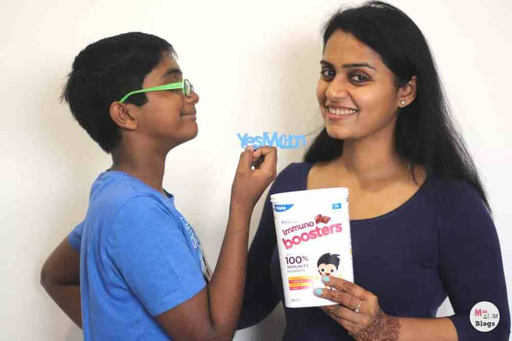 Make Your Child Say 'YesMom'With ActivKids Immuno Booster