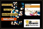MaaOfAllBlogs Bags The Top Blogger Award For The Best Fitness & Health Blog In India