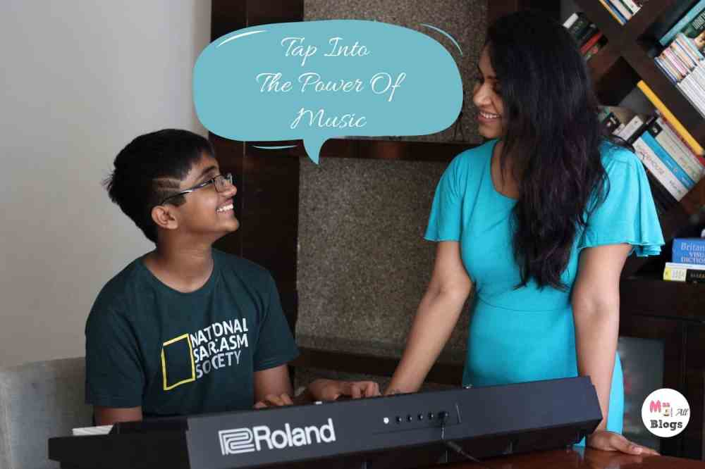 Tap The Power Of Music For Kids- Roland Keyboard