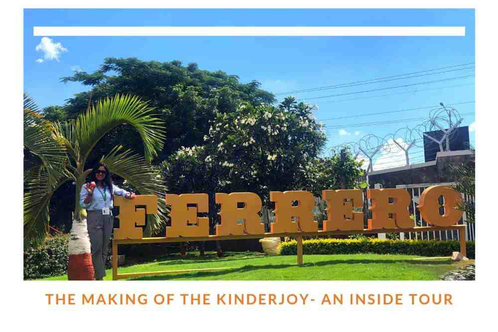 The Making Of Kinder Joy – An Inside Tour