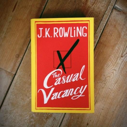 Eindelijk het nieuwe boek van Rowling in mijn bezit.