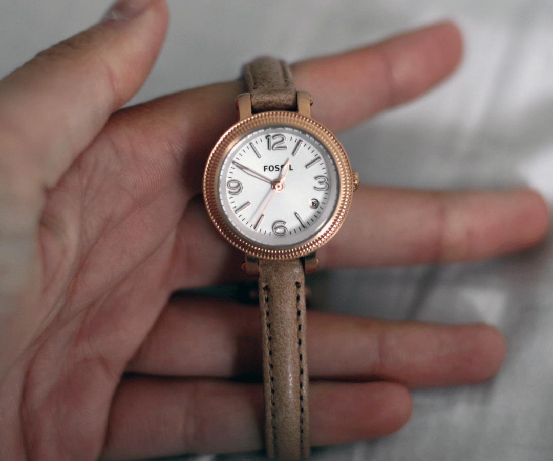 Horloge Fossil
