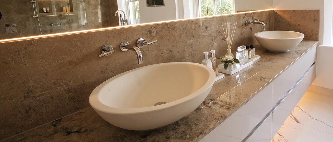 Marmor Waschtische  Elegante Marmor Waschtische