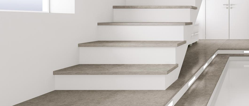 Silestone Treppen  sthetische Silestone Treppen