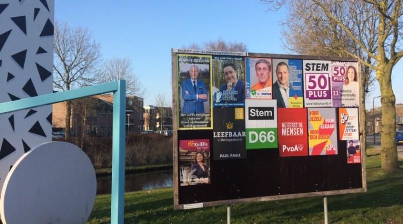 Gemeenteraadsverkiezingen Maaspoort Den Bosch