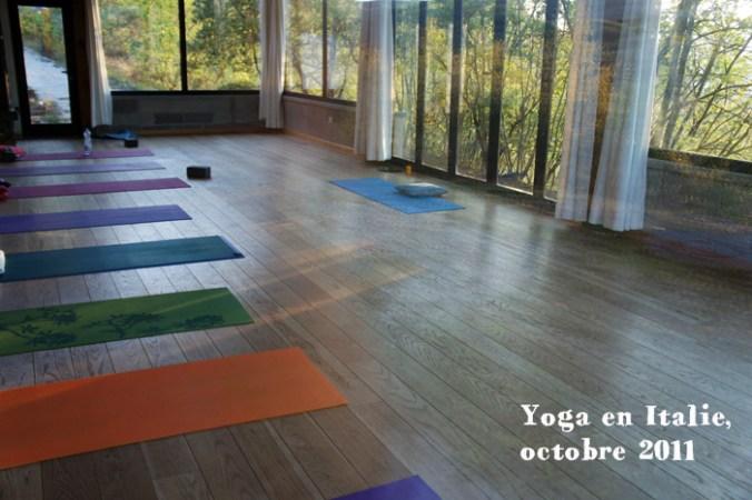 Yoga en Italie, Locanda del Gallo, octobre 2011