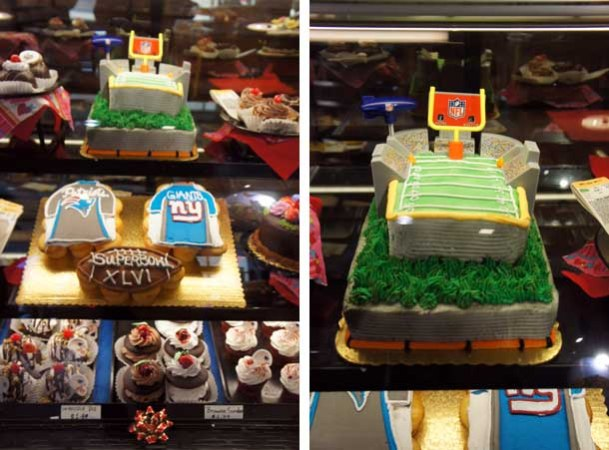 Gateaux du SuperBowl