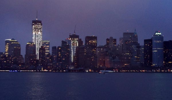 Manhattan - pic from the Ferry