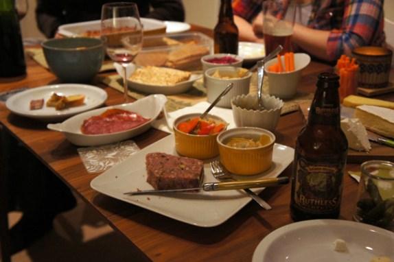 Soirée entre amis // Jeux, dips et America's Test Kitchen | Le blog de Mathilde