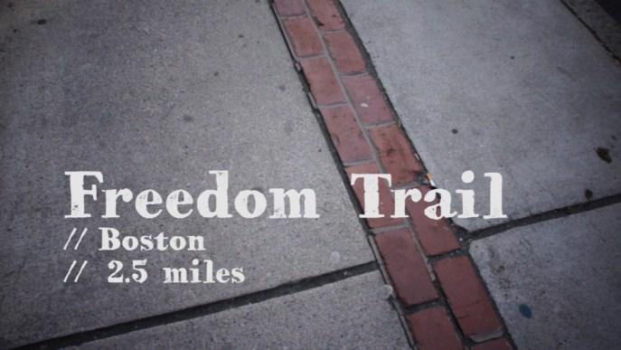 Freedom trail-1