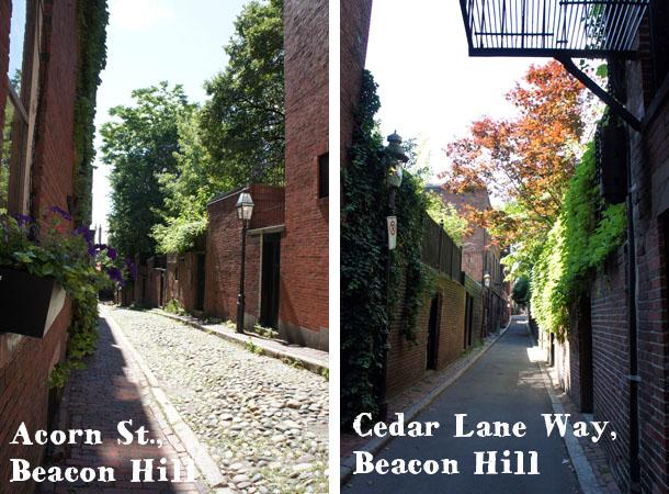 Cedar Lane Way & Acorn St. Beacon Hill