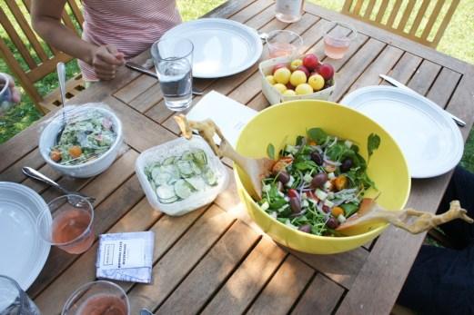 Tanglewood salade