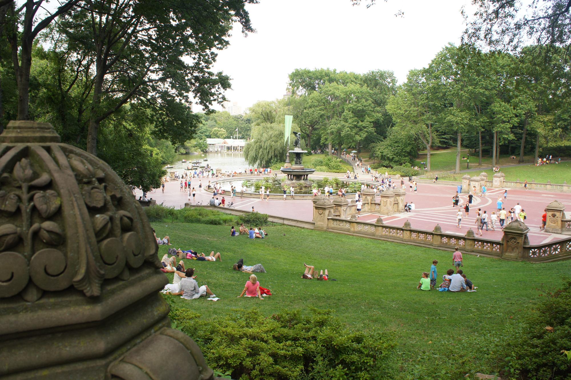 Central Park en été
