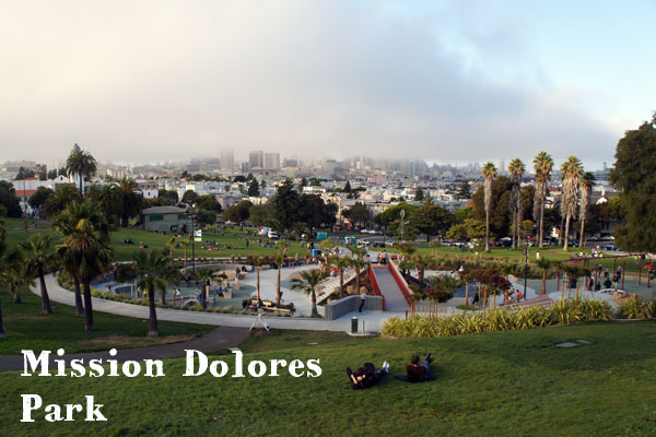 The Mission Dolores Park - San Francisco - www.maathiildee.com