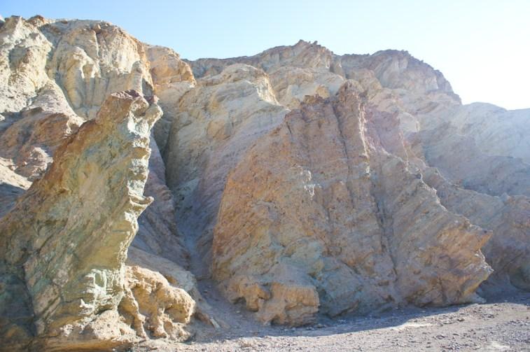 Golden Canyon Death Valley Californie 1