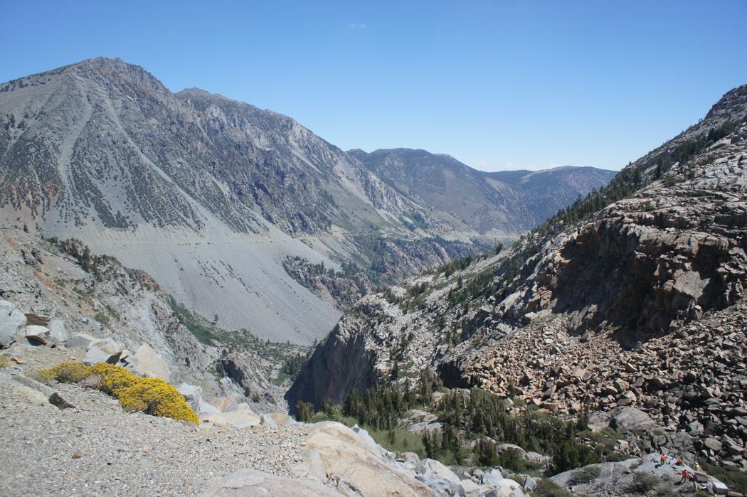 yosemite national park californie route sortie