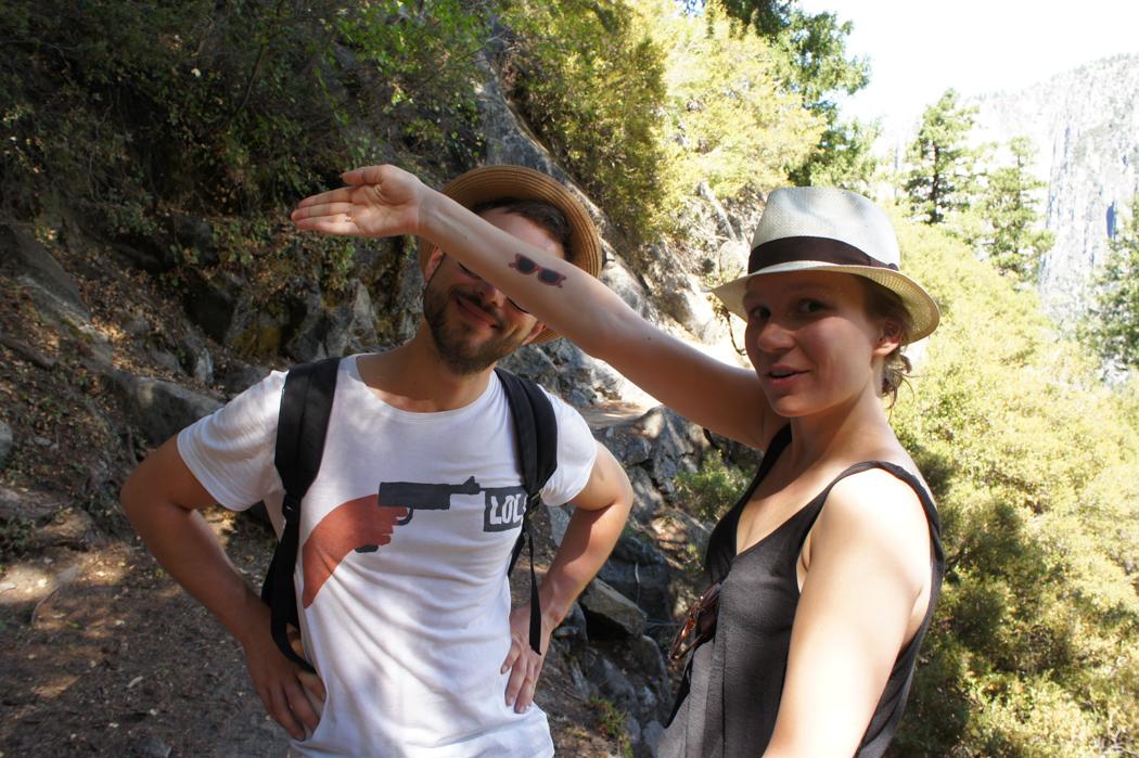 yosemite national park californie leo et manu