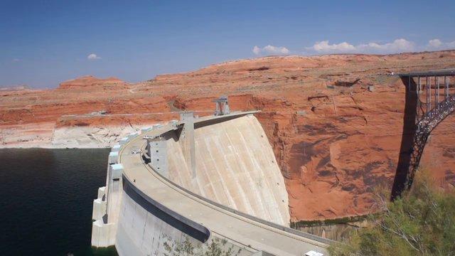 Lake Powell et Glen Canyon Dam