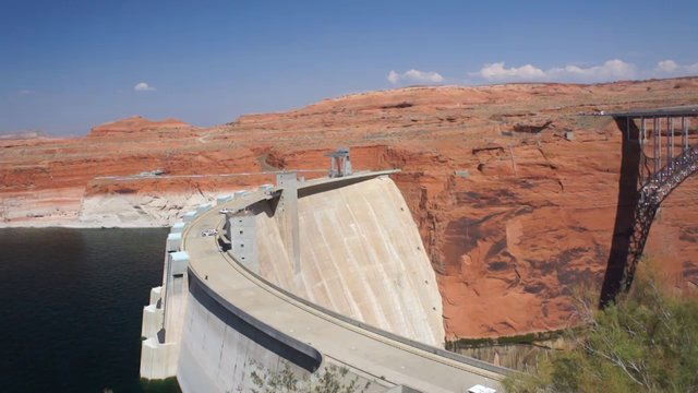 Lake Powell et Glen Canyon Dam