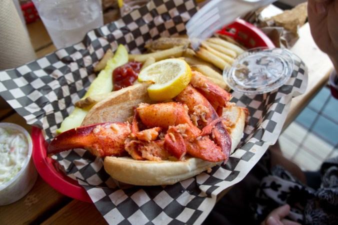 Le homard et autres spécialités de Boston
