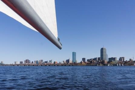 Voile sur la Charles River