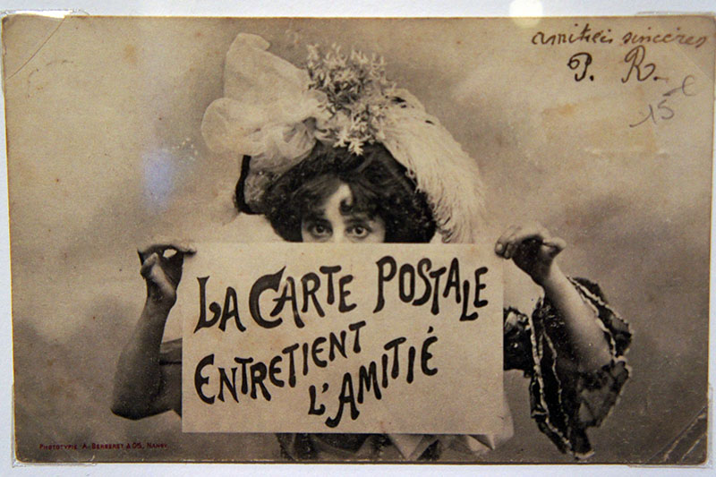 La carte postale entretient l'amitié - MFA Boston - Le blog de Mathilde