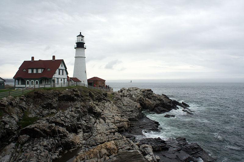 Le phare de Portland, Maine 1