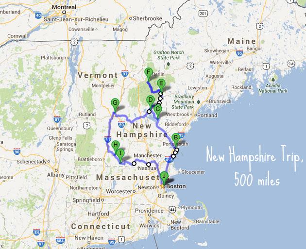 New Hampshire Trip