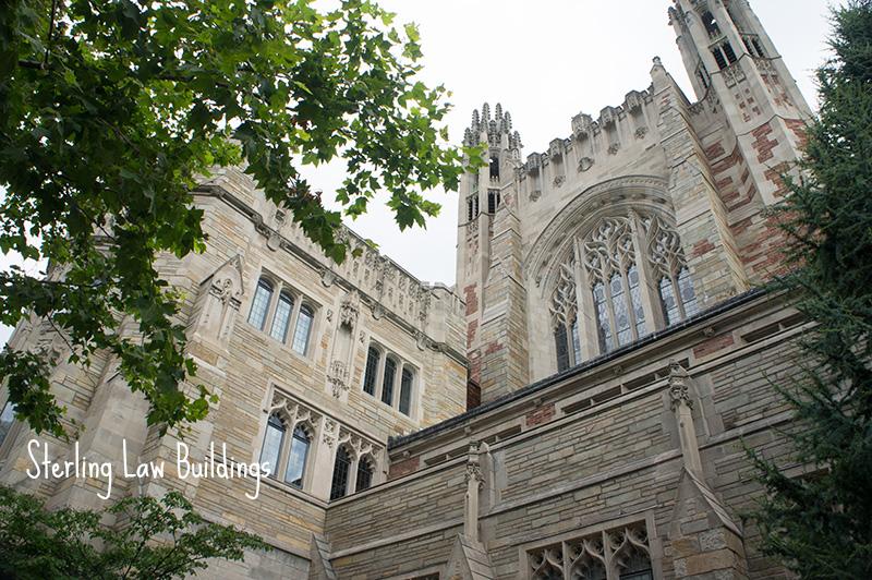 Law buildings Yale University