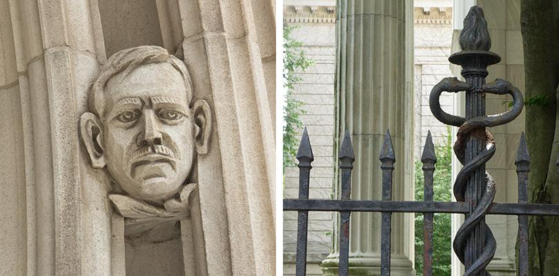 Sculptures Yale University 1